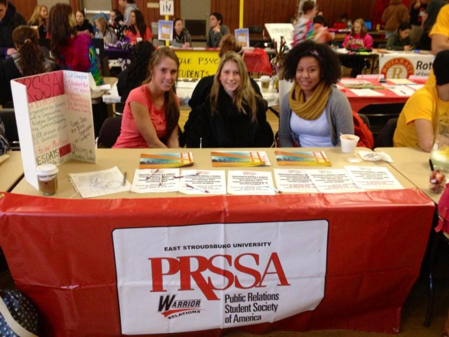 PRSSA at ESU Club Fair