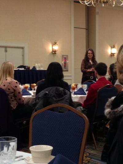 Etiquette Luncheon at PSU Conference