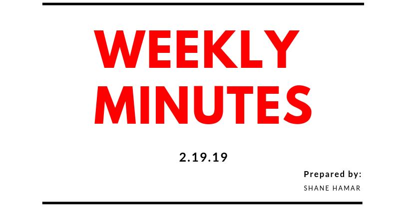 Weekly Minutes (2)